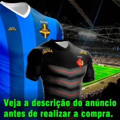 CAMISA COM ESCUDO DO SEU TIME